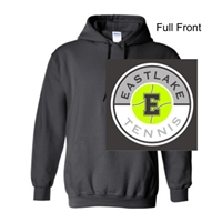Charcoal Hooded Sweatshirt (Youth and Adult)