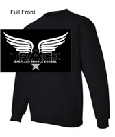 Black Crew Sweatshirt (Youth and Adult)