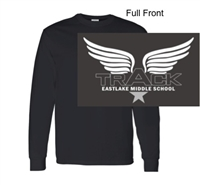 Black Long Sleeve T-Shirt (Youth and Adult)