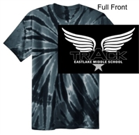 Black Tie-Dye T-Shirt (Youth and Adult)
