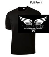Black Performance Tee - Short Sleeve (Adult and Youth)