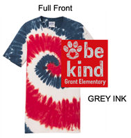 Red, White and Blue Tie-Dye T-Shirt (Youth and Adult)