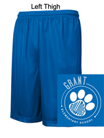 Royal Mesh Performance Shorts with Pockets (Adult and Youth)