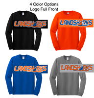 Long Sleeve Cotton T-Shirt (Adult and Youth)