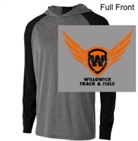 Graphite Heather Black Performance Hoodie (Adult and Ladies)