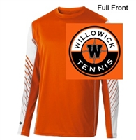 Orange and White Performance Short Sleeve Shirt  (Adult and Youth)