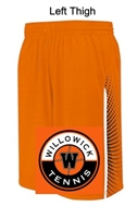 Orange with Stripe Performance Shorts  (Adult and Youth)