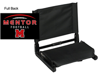 Black Stadium Chair (One Size)
