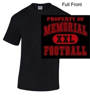 Black Short Sleeve T-Shirt (Youth and Adult)