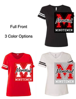 Short Sleeve Cotton/Polyester Jersey T-Shirt (Ladies and Youth)