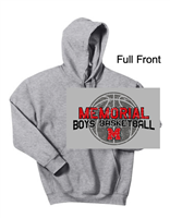Sport Grey Hooded Sweatshirt (Youth and Adult)
