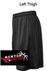 Black Performance Shorts with Pockets (Youth and Adult)