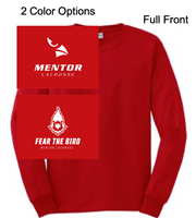 Red Long Sleeve T-Shirt (Youth and Adult)