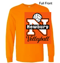Orange Long Sleeve T-Shirt (Adult and Youth)