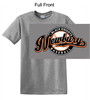 Graphite Heather Short Sleeve T-Shirt (Adult and Youth)
