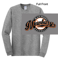 Graphite Heather Long Sleeve T-Shirt (Adult)