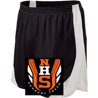 Black with White Performance Shorts  (Adult and Ladies)