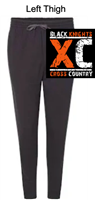 Black Cotton/Polyester Joggers (Adult)
