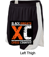 Black and White Performance Shorts  (Adult and Ladies)