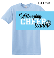 Light Blue Short Sleeve T-Shirt (Adult and Youth)