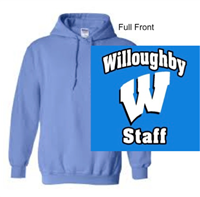 Columbia Blue Hooded Sweatshirt (Adult)