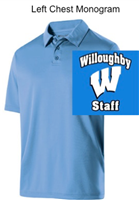 Columbia Blue Dry-Excel Polo (Adult and Ladies)