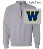 Sport Grey 1/4 Zipper Pullover (Adult)