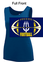 Navy Polyester Tank Top  (Ladies and Girl)