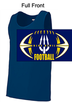 Navy Polyester Tank Top  (Adult and Youth)