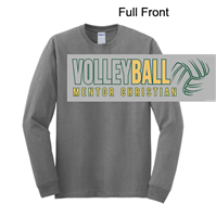 Sport Grey Long Sleeve Soft Style T-Shirt (Adult and Youth)