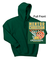 Hunter Green Hooded Sweatshirt (Adult and Youth)