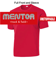 Red Performance Tee - Short Sleeve (Adult and Youth)