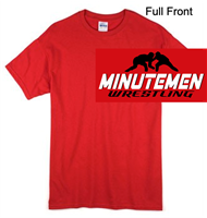 Red Short Sleeve T-Shirt (Youth and Adult)