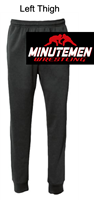 Black Performance Jogger Sweatpants with Pocket (Adult and Youth)