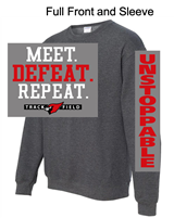 Graphite Heather Crew Sweatshirt (Youth and Adult)