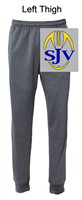 Graphite Performance Jogger Sweatpants with Pocket (Adult and Youth)