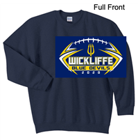 Navy Crew Sweatshirt (Adult and Youth)