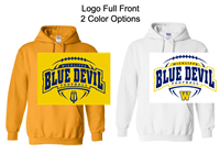 Cotton Hooded Sweatshirt (Adult and Youth)