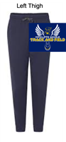 Navy Cotton/Polyester Joggers (Adult)