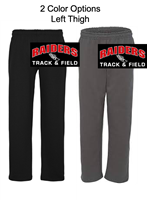 Open Bottom Sweatpants with Pocket (Adult and Youth)