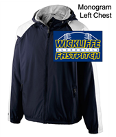 Navy and White Water-Resistant Jacket (Adult)