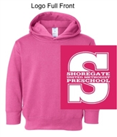 Vintage Hot Pink Hooded Sweatshirt (Adult, Youth and Toddler)