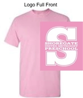Light Pink Short Sleeve Tee Shirt (Adult, Youth and Toddler)