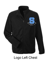 Black Microfleece Jacket (Adult)
