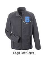 Sport Graphite Microfleece Jacket (Adult)