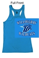 Electric Blue Racerback Performance Tank (Ladies and Youth)