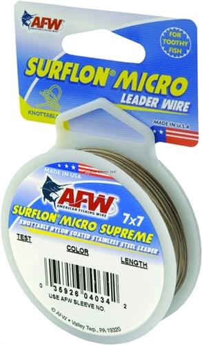 Afw Surflon Micro Supreme Leader Wire