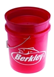 Berkley 5 Gallon Bucket - Red