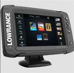 Lowrance Elite 7TI Mid/High/Totalscan Basemap