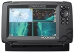 Lowrance Hook Reveal 7 Tripleshot & US Inland Maps